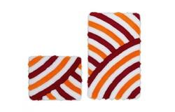 In Style Badmat Rood Set van 2 Basic