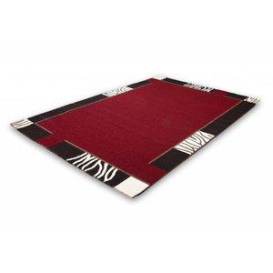 Lalee  Modern Vloerkleed 80x150 Rood 103