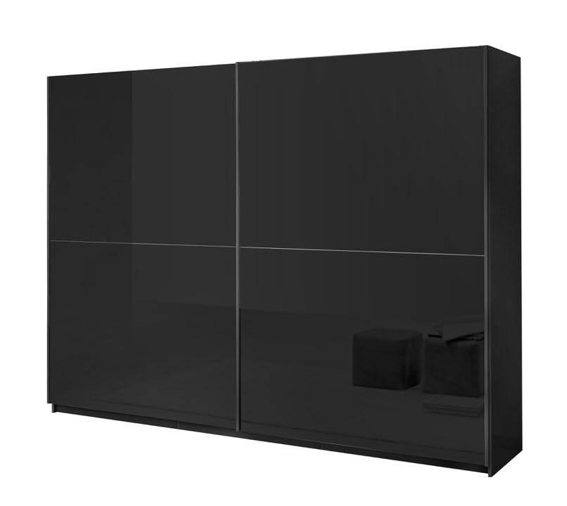 Davidi Design Kenzo Schuifdeurkast Zino HG Zwart L263