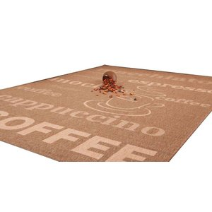 Lalee  Finca Sisal Vloerkleed 160x230 Coffee 510