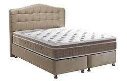Luxor Opbergbed Taupe 180x200