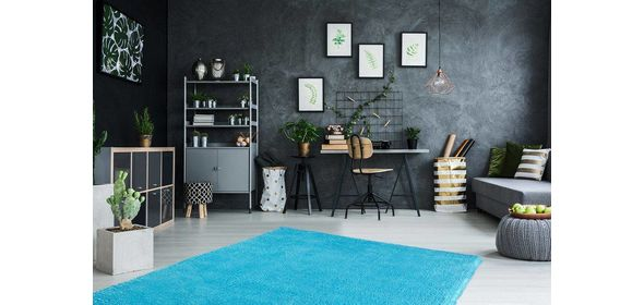 Obsession Carnival Vloerkleed 200x290 Turquoise