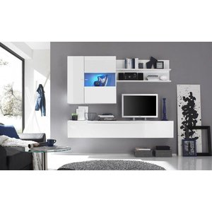 Benvenuto Design Mauro TV Wandmeubel HG Wit