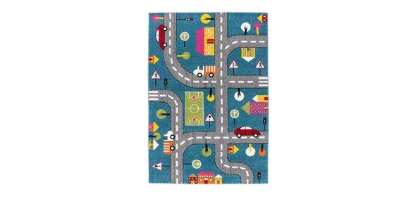 Lalee  Amigo Street Kindervloerkleed 120x170 Blauw