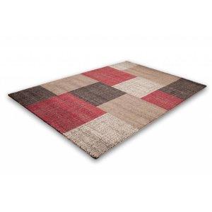 Lalee  Modern Vloerkleed 120x170 Rood 105