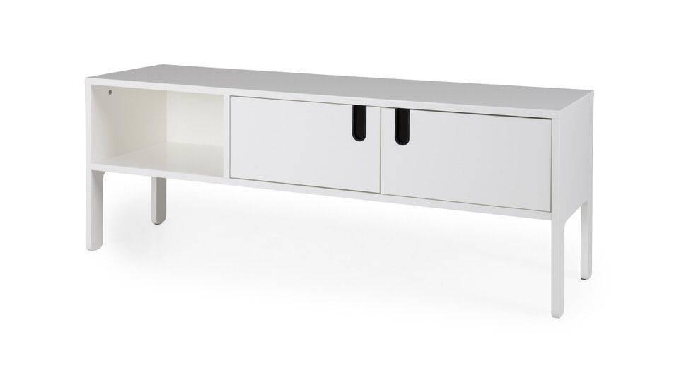 Nasmaak tv meubel galicia geheel hoogglans wit cm nasmaak