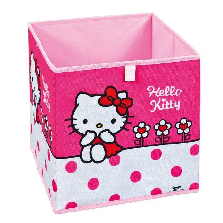 Interlink SAS Hello Kitty Opbergdoos Fuchsia
