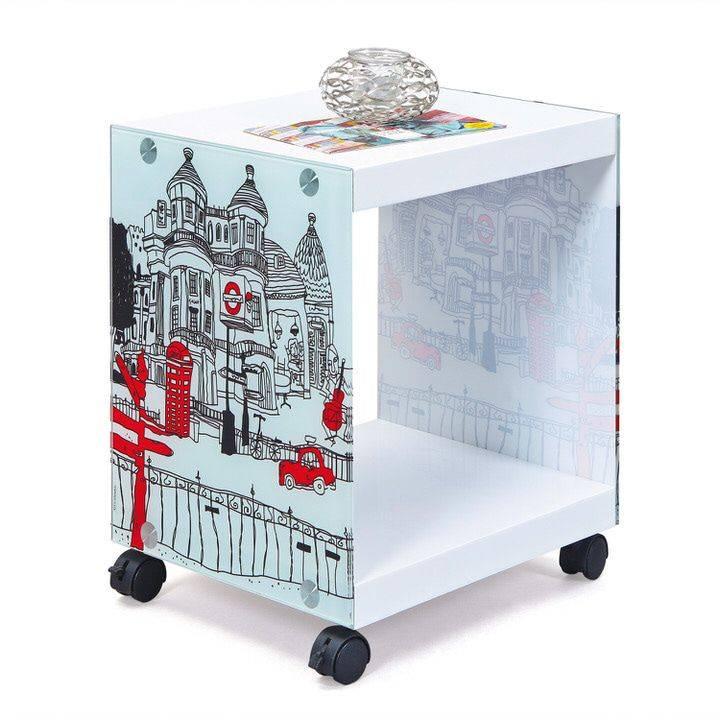 Interlink SAS Cube Bijzettafel Londoncube