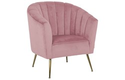 Interiors Shelly Fauteuil Roze