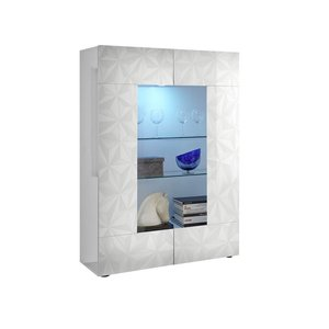 Benvenuto Design Prisma Vitrinekast Wit