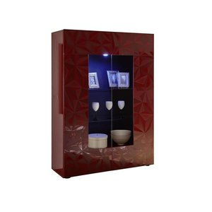 Benvenuto Design Prisma Vitrinekast Rood