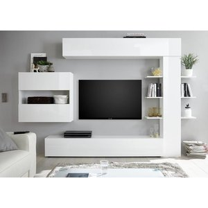 Benvenuto Design Sorano TV wandmeubel One Wit