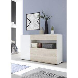 Benvenuto Design Nice Dressoir Wit/Eiken