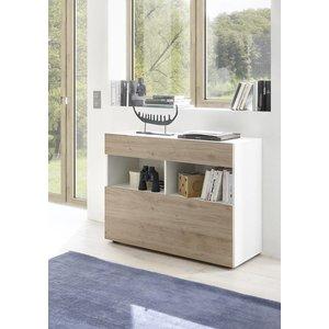 Benvenuto Design Sorano Dressoir Wit/Eiken