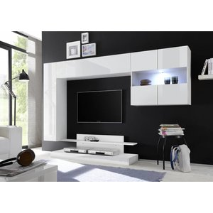 Benvenuto Design Nice TV wandmeubel Combi Wit