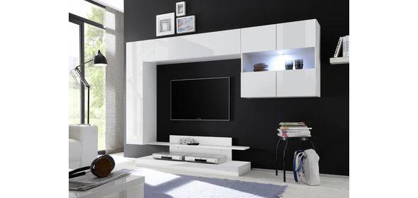 Benvenuto Design Nice TV wandmeubel Combi Wit