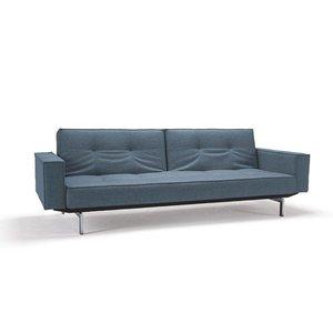 Innovation Splitback Deluxe Slaapbank Lichtblauw