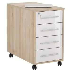 Maja Moebel System Ladeblok Large Beuken/HG Wit