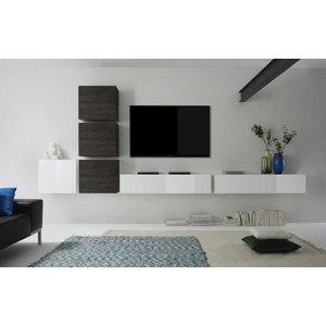 Benvenuto Design Cube TV wandmeubel Combi