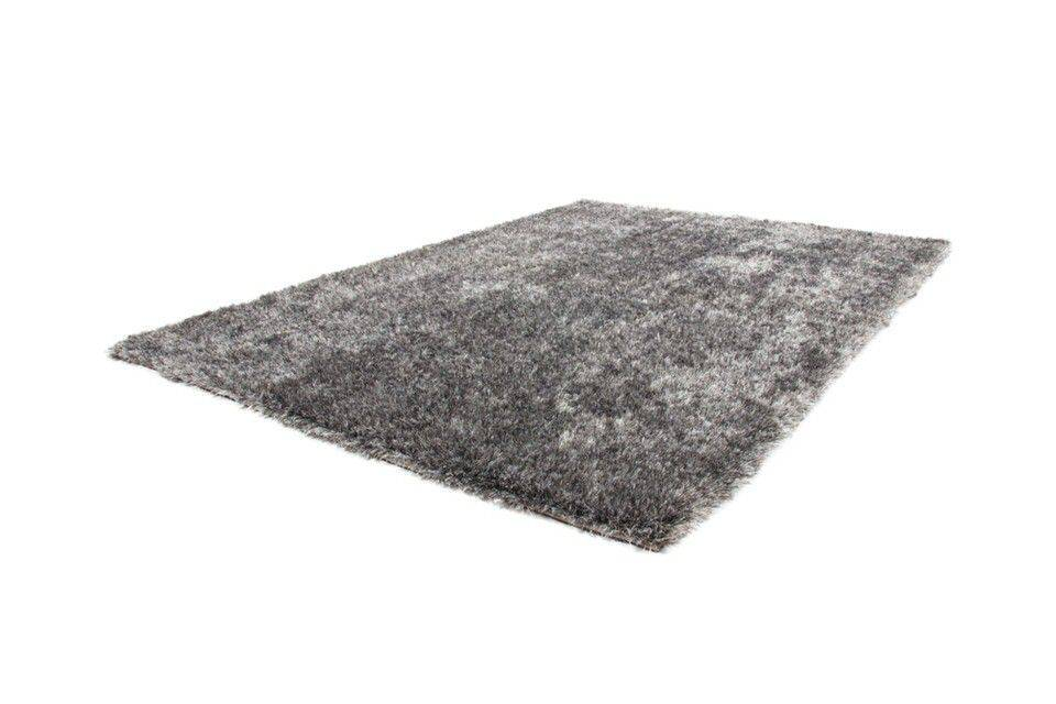 Kayoom Diamond Vloerkleed 80x150 Grijs/Wit