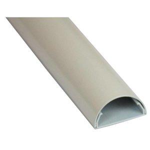 Kabelgoot Aluminium Wit