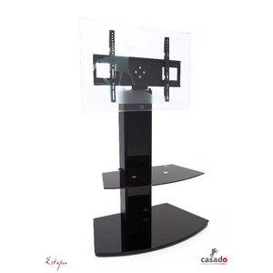 Estepa Stand TV meubel Zwart
