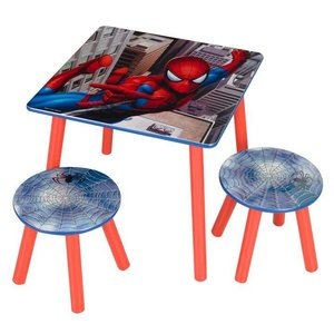 Worlds Spiderman Tafel met Stoelen