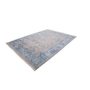 Lalee  Vintage Vloerkleed 120x170 Zilver/Blauw