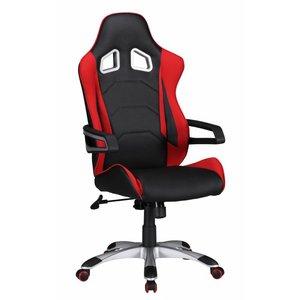Sky Style Speed Bureaustoel Zwart/Rood
