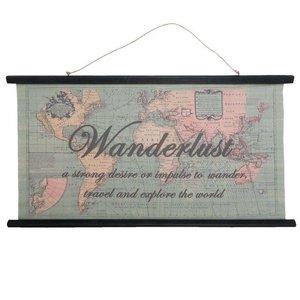 Wereld Wandkaart