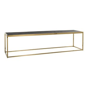 Richmond Interiors Blackbone Salontafel Goud Large