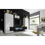 Incastro TV meubel Zwart