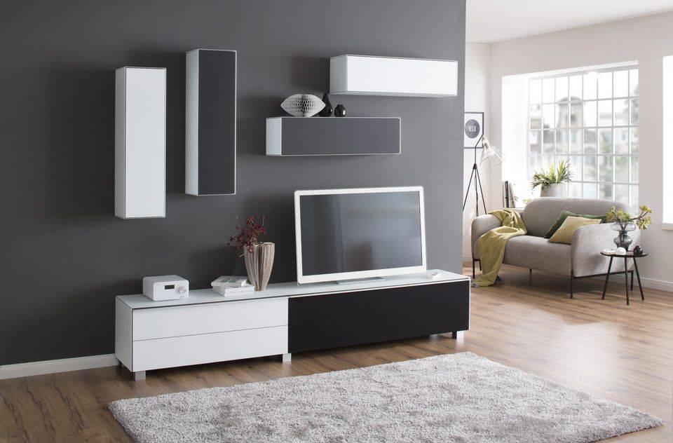 Verrijdbare Tv Kast : Maja moebel stip tv meubel wit kopen bij furnea