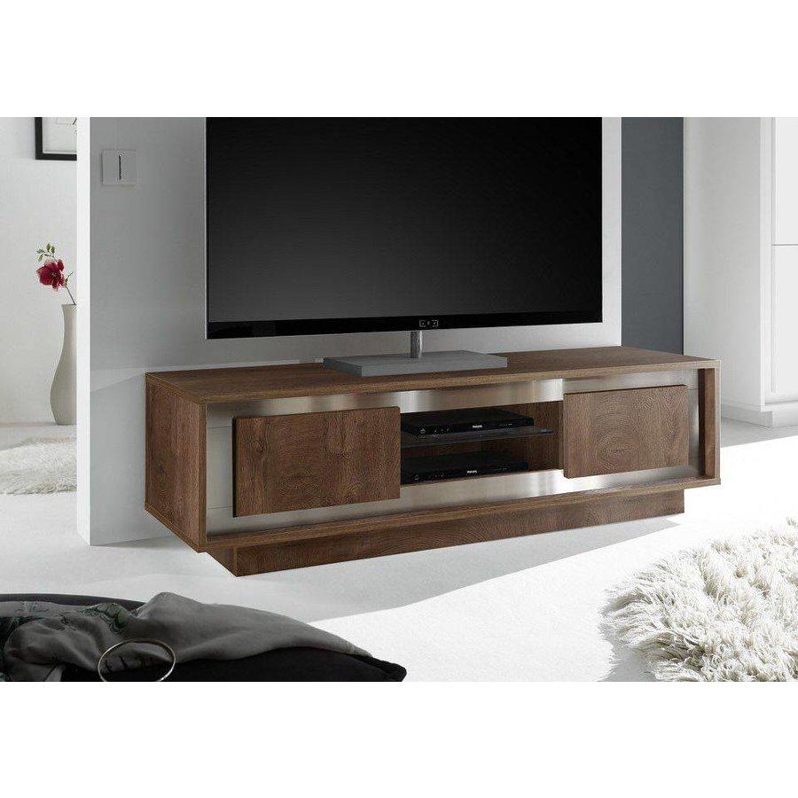 Sky TV meubel Cognac