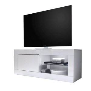 Benvenuto Design Modena TV meubel Small Hoogglans Wit