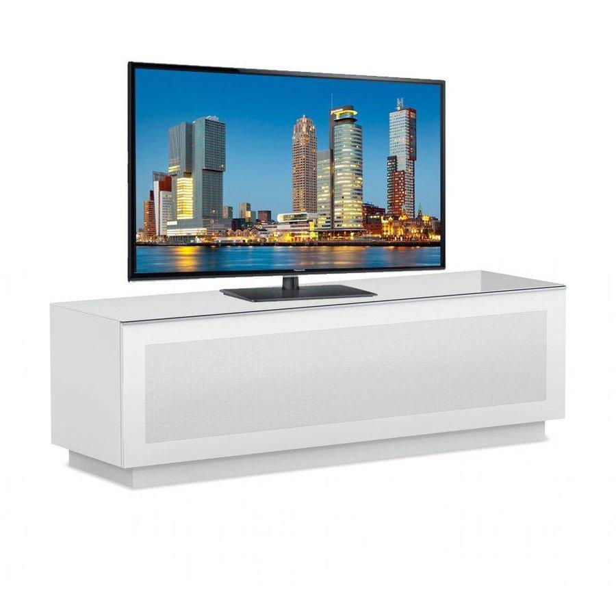Large TV meubel Hoogglans Wit Gemonteerd