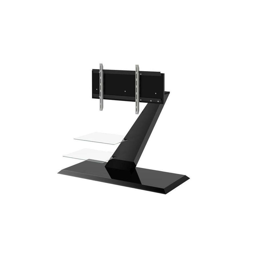 Vento TV-meubel Hoogglans Zwart