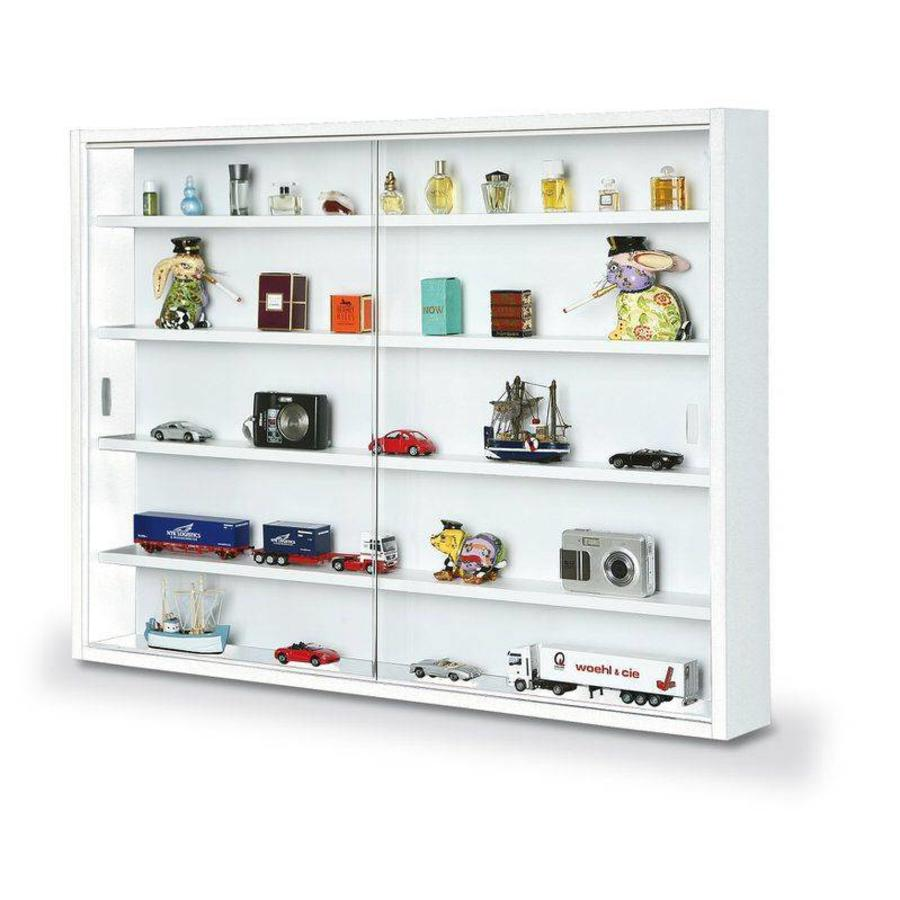 Kleine Glazen Vitrinekastjes.Inter Link Sas Collecty Vitrinekast Wit