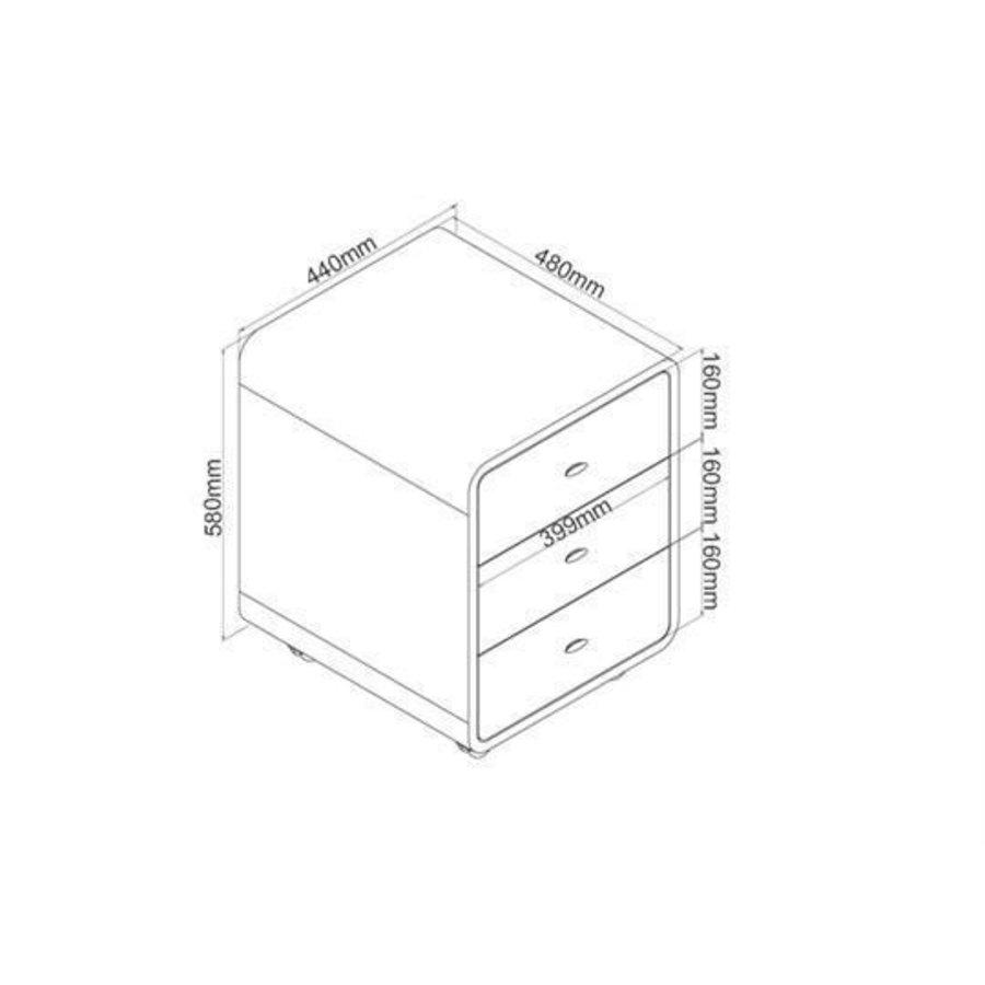 Drawer PC-201 Ladeblok Eiken