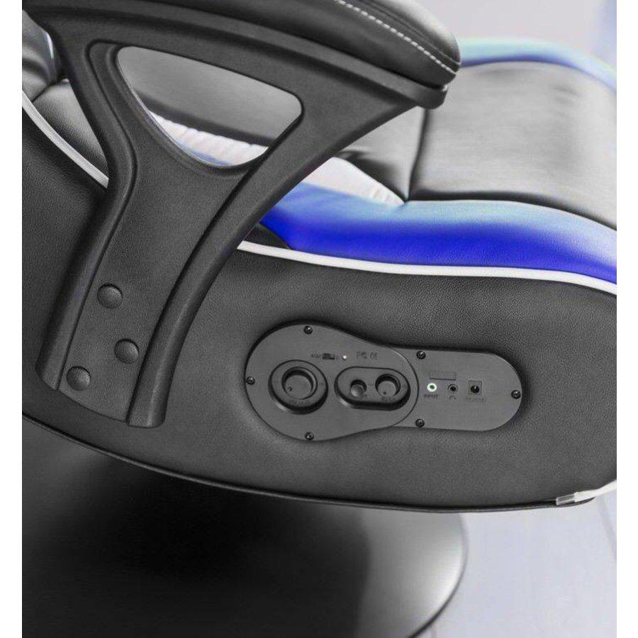 Specter Gamestoel Blauw met Bluetooth
