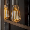 4x Lichtbron LED filament druppel