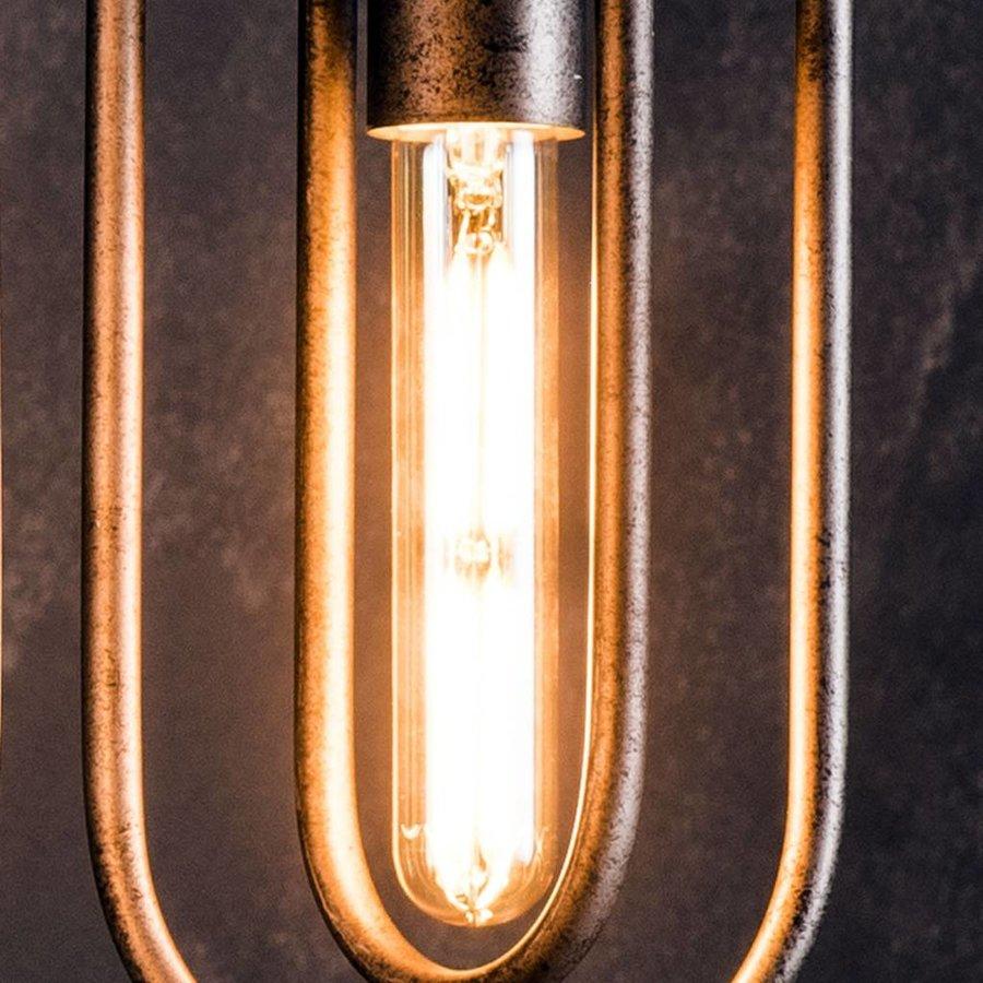 2x Lichtbron LED filament buis 18,5 cm