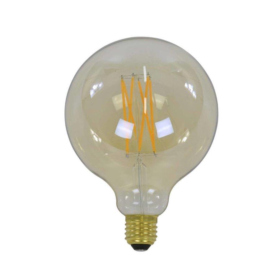 7x Lichtbron LED filament bol ø12,5