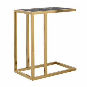 Richmond Interiors Blackbone Laptoptafel Goud