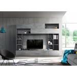 Pratiko TV wandmeubel Oxid Grijs/Beton