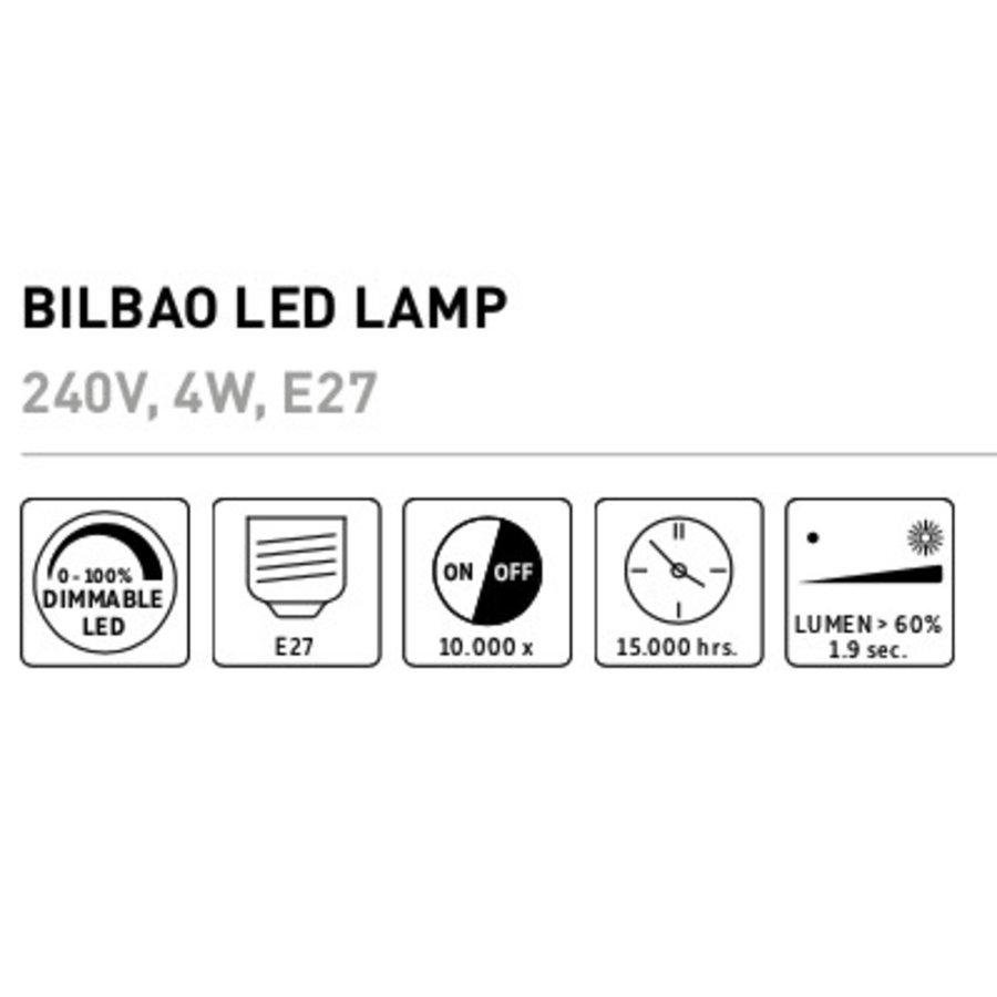 Bilbao LED lamp Goud