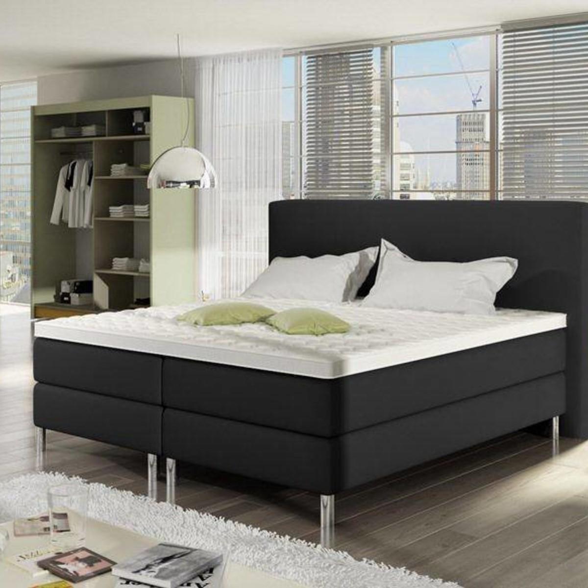 Slaapkamer Complete Tweepersoons.Complete Boxsprings Bij Furnea Voor Comfort Luxe In De