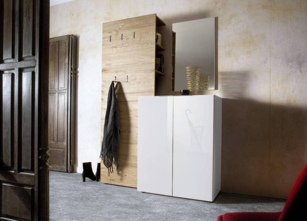 Nova design vicenza schoenenkast small wit kopen bij furnea