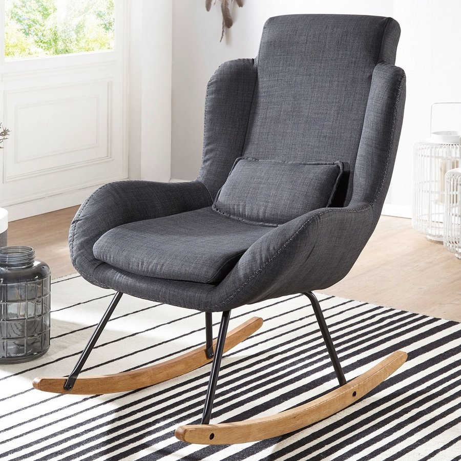 Rocky Fauteuil Antraciet