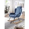 Rocky Fauteuil Blauw